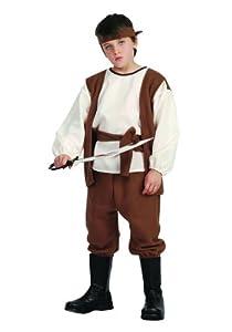 Caribbean Pirate Child Costume (Large 12-14)