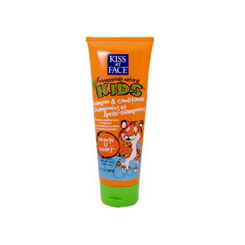 Kiss My Face Kids Shampoo And Conditioner Orange U Smart 8 Fl Oz front-674466