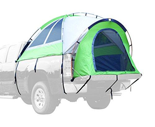 NAPIER Backroadz Full Size Long Bed Truck Tent, 8-Feet, Green/Beige/Grey