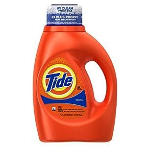 Tide Original Scent Liquid Laundry Detergent, 50 Fluid Ounce