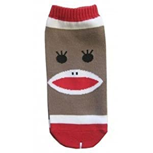 Sock Monkey Ankle Socks