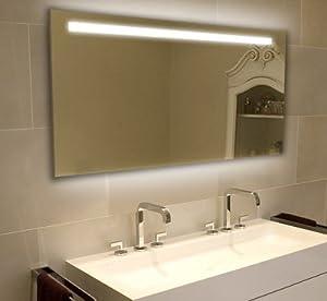New Light Mirrors LED Enlighten Halo Range Bathroom Mirror With Demister