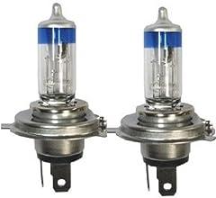 GE ハロゲンランプ 高輝度H4 60/55W 12Vバルブ「メガライトウルトラ+90」(純正より90%照射範囲UP) E1マーク認証付き 車検対応 純正交換用部品(2個入り) 73500