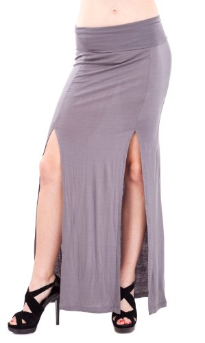Fitted Maxi Skirt front-1050025