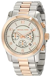 Michael Kors Oversized Two-Tone Watch