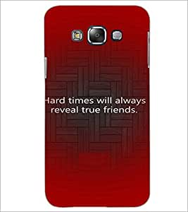 PrintDhaba Quote D-3926 Back Case Cover for SAMSUNG GALAXY A7 (Multi-Coloured)