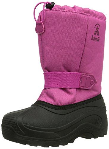 Kamik TICKLE8, Stivali da neve con caldo rivestimento interno Unisex - bambino, Rosa (Pink (MAG)), 26 (8.5 uk)