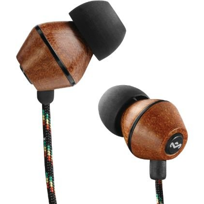 House Of Marley Em-Je011-Mi People Get Ready Jammin'In-Ear Headphone With 1-Button Mic - Midnight