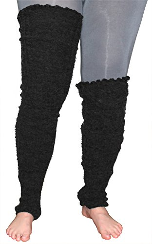 Plus Size Leg Warmers Wide Calf Over The Knee Thigh High ...