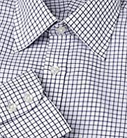 Collezione Cotton Linen Checked Shirt