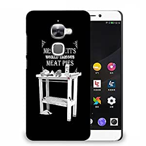 Snoogg World Famous Meat Pies Designer Protective Back Case Cover For LETV 2S