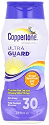 Coppertone ultraGuard Sunscreen Lotion UVAUVB Protection