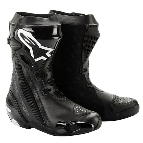 Alpinestars Supertech R Vented Boots 2012 Black US 6.5 EU 40