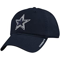 Dallas Cowboys Basic Slouch Cap - Navy