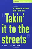 Takin' It to the Streets: A Sixties Reader (019514290X) by Bloom, Alexander