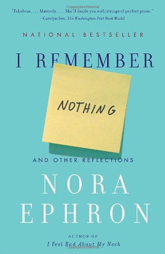 I Remember Nothing: And Other Reflections (Vintage)
