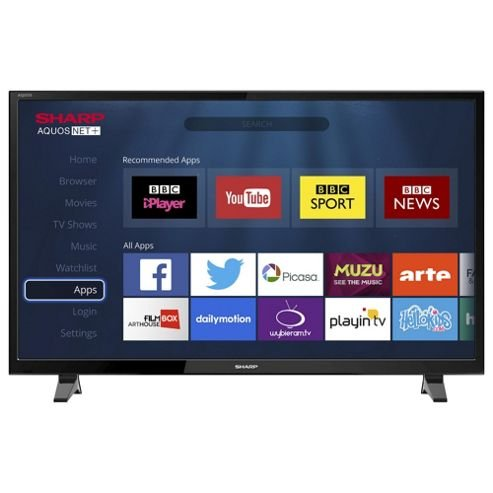 Sharp LC-49CFG6001K Smart Full HD 49 Inch LED TV with Freeview HD