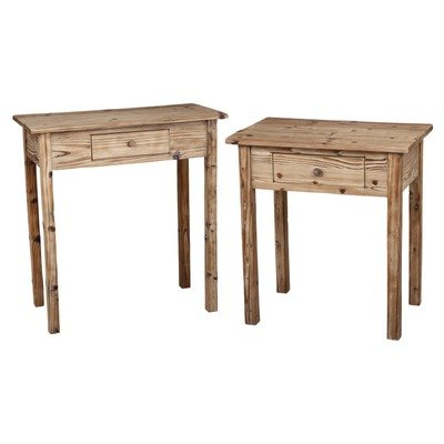 Cheap 2 Piece Wooden Console Tables (B004OD91F4)