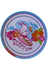 Peanuts Snoopy Plate - Surf's Up!