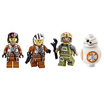 LEGO Star Wars - Set of 4 Minifigures ONLY From Poe's X-Wing Fighter 75102.