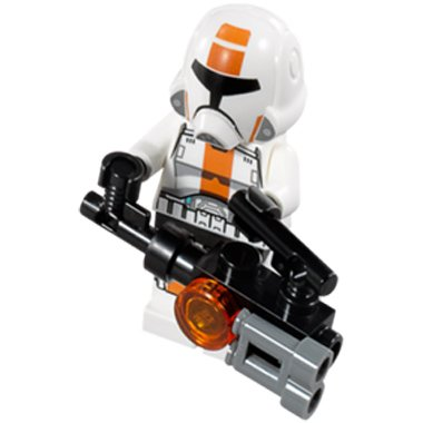 REPUBLIC TROOPER ORANGE (mit Large Waffen) -