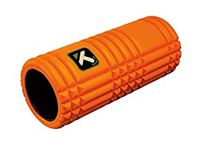 Trigger Point Performance The Grid - Rodillo de espuma para entrenamiento y masajes, color naranja, talla 33 x 14 cm
