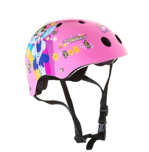 Titan Flower Princess Pink Helmet 11-Vent Multi-Sport Skateboard and BMX, Youth Size Small