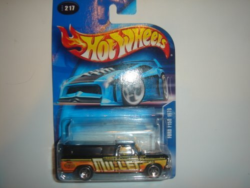 2003 Hot Wheels Ford F150 1979 Black #2003-217 - 1
