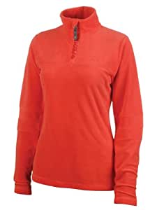 Protest Women's MUTE 1/4 ziptop  - Bright Red, Large/40