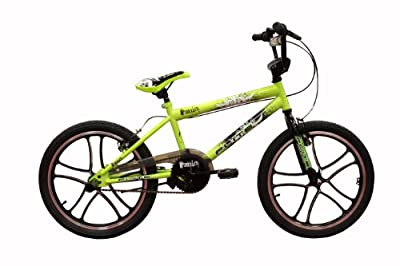 Flite Panic Mag Boys BMX Bike - Green