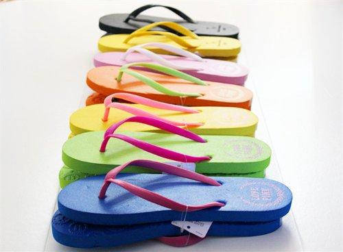 Beach Sport Gym Sandals Slipper Flip Flops UK Size 4 5 6 White Blue Pink Black