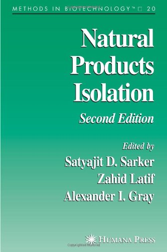 Natural Products Isolation (Methods in Biotechnology)
