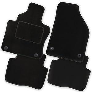 Passform-Velours-Fußmatten für Fiat Sedici  Autoteppiche in grau  NEU