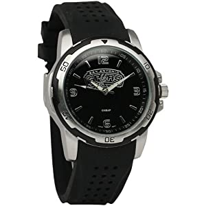 NBA San Antonio Spurs Mens Stealth Sport Watch by Logo Art