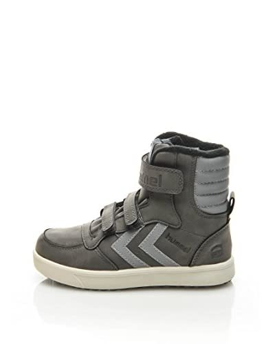 HUMMEL Sneaker Alta Stadil Super Hi Jr Refl [Grigio]