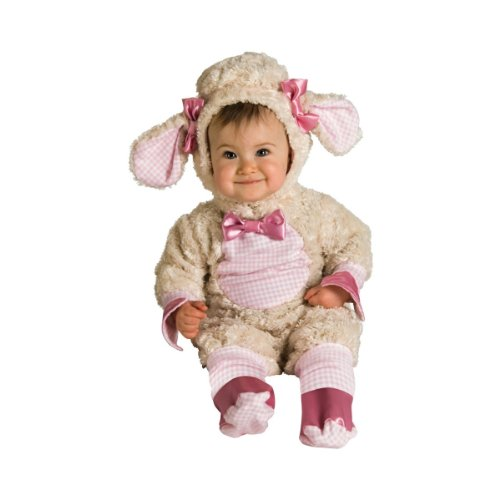 Rubies Pink Lamb Infant Newborn Baby Costume (0-6 month)