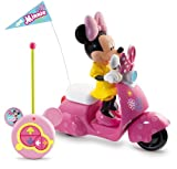 Imc Toys - Moto Rc Scooter Minnie Pilas (Minnie Extraible) 43-180673