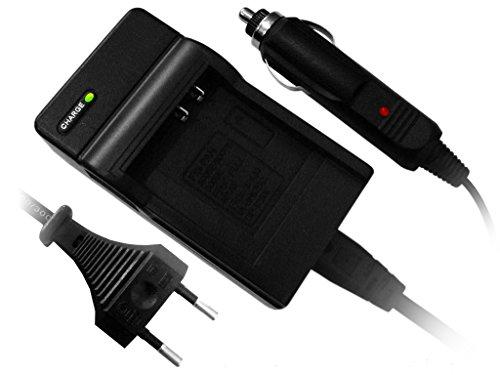 Kompakt-Ladegerät für Panasonic Lumix DMC-G3, DMC-G3K, DMW-BLD10, DMW-BLD10E