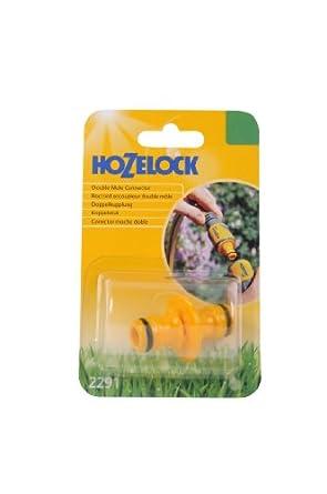 Hozelock 2291 Double Male Connector