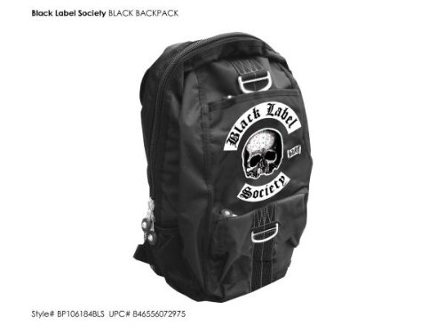 Black Label Society - Black With Logo (Rucksack)