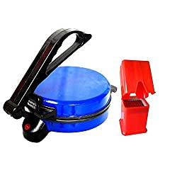 SDO Combo Banson Roti maker (Blue) with Finger Chips Maker
