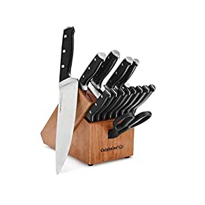 Calphalon Classic Self-Sharpening 15-Piece Cutlery Set with