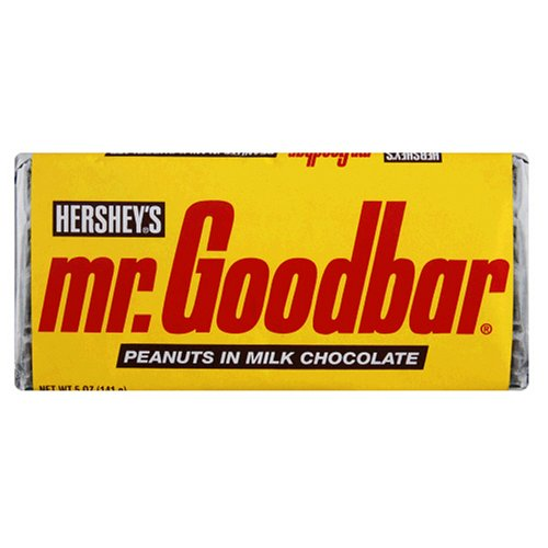 Buy Mr. Goodbar Extra-Large Candy Bar, 12-Count, 5-Ounce Bar (Pack of 2)