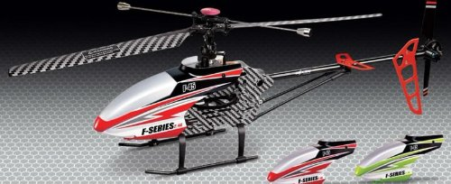 MJX F645 F45 4ch LCD 2.4GHZ Large Single Blade Rc Helicopter