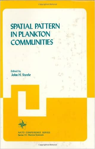Spatial Pattern in Plankton Communities (Nato Conference Series)