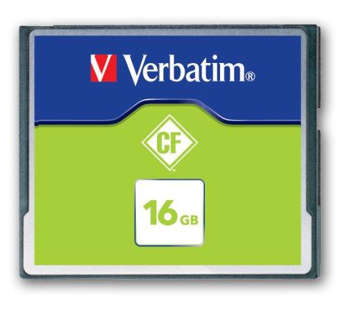 Verbatim Carte mémoire Compact Flash 16 Go