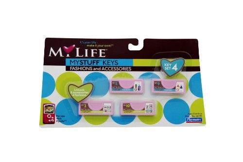 My Life Fashion Key Set #4 - 1
