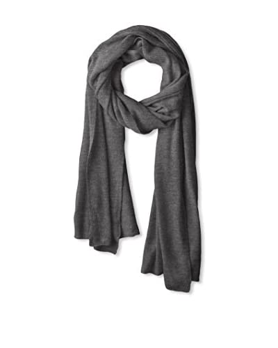 Portolano Women's Light Weight Cashmere Wrap, H Charcoal