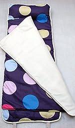SoHo Nap Mat , Lavender Polka Dot