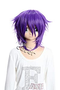 CosplayerWorld Shiki Yuuki/Koide Natsuno Wig 40cm 16inch CosplayWig Manga Anime Wig Party Wigs GH143A